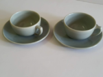Bauer cups and saucers